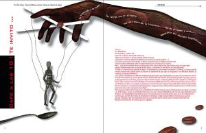 Editorial design, article by LighthousePixels