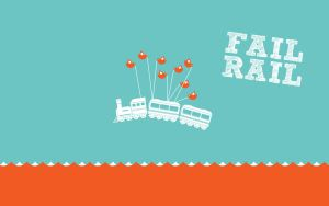 Fail Rail Wallpaper by Lycanstrife