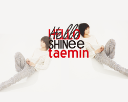 SHINee Taemin Hello Wallpaper by xXdead-insideXx