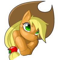 Applejack by Shnider