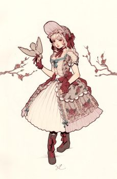 Winter Lolita by yasa-hime