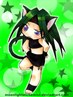 FullMetal Kitty: Envy by MoonlightAlchemist