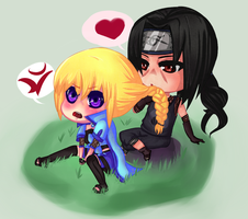 Commission: Chibis by willow-wishes