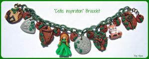 Celtic inspiration bracelet by Bojo-Bijoux