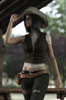Gina cowgirl by FranPHolland