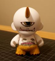 Custom Munny - early stage by Tokyo-Explosion