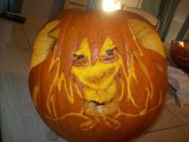 Grell Sutcliff Pumpkin by Anonymous-Anime-Fan