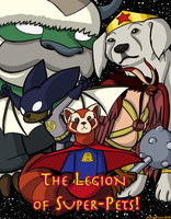 The Legion of Super Pets - Avatar Edition by cyberhare