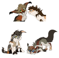 LynxXBlossom Hypo Kittens [Closed] by WhiteAdoptables500