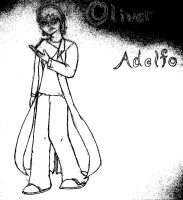 Oliver In Monocrome by Cookie96