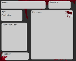 Zombie-City Blank Application by TurkFish