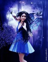 144. A Blue Fairy by Sannie10
