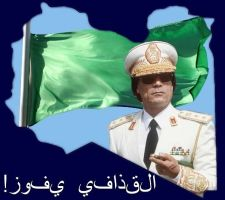 For Gaddafi and his people by lightforgiven666