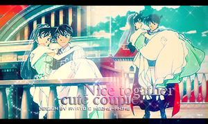 Cute Couple .... Nice Together by Ayato-msoms