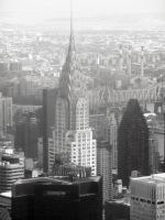 Chrysler Building by TheWizardofOzzy
