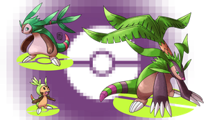 Chespin's Evolutions