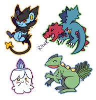 Pokemon requests: 2 by Amphany