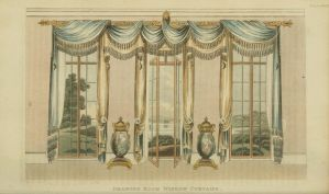 1820 Regency Curtain - Original by EveyD