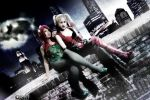 .::Poison Ivy and Harley Quinn::. by YutarnaThetys