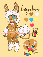 Sweet Monsterbun Adopt: Gingerbread CLOSED by ColorgasmFreak