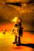Playmobil - Fireman by HeresiAR