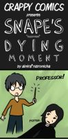 Snape's Dying Moment by retromicha