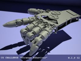 CG challenge W.I.P by octopus7
