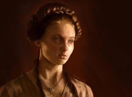Sansa Stark, Game of Thrones by RussianVal