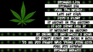 Stoner Flag by randyadr