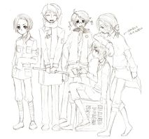 APH: Allied Forces Hetalia by milei