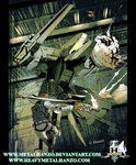 Metal Gear Rex colored by HeavyMetalHanzo