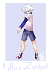 killua_Zoldyck by Denishellflame