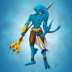 Zora Warrior by joeybowsergraphics