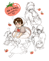 Life of Chibi!Romano by slouph