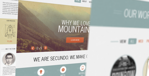 Secundo PSD Template by kripalser