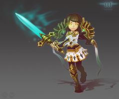 TTF.warrior by tsynali