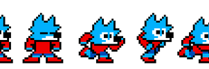 First Game Jam Sprites (Game in the Description!!) by WolfoxYo