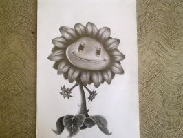 Sunflower/Girasol by H3cT0r-Dibujos