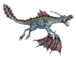 Water Dragon 03 PNG Stock by Jumpfer-Stock