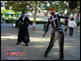 Lavi vs Tyki Mikk by darkphantomhive