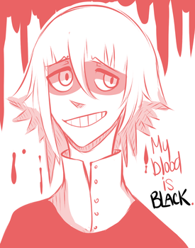 Crona- My blood is black. by Feri-ko