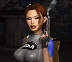 Classic Raider 55 by tombraider4ever
