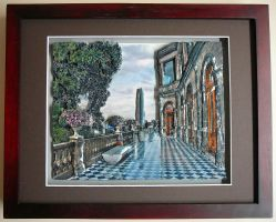 Castle Chapultepec in Mexico City by luckylion3d