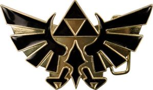 Hylian Royal Crest Belt Buckle by kingjames777