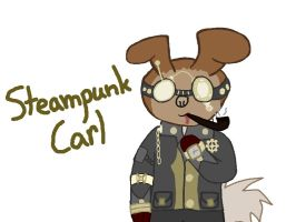 Steampunk Carl by Twiragoon