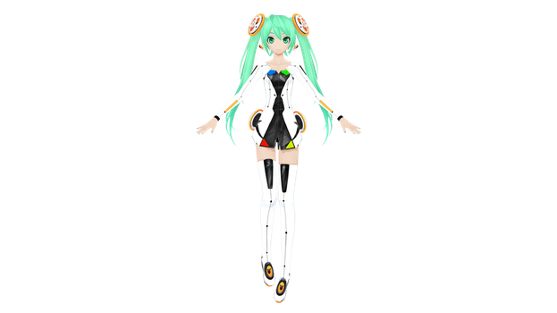 PROJECT DIVA F 2nd Linkage Hatsune Miku by juno0818