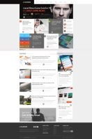 Blog News Web Design SOLD by vasiligfx