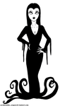 Morticia Addams- Just Draw 2016 05.10 by Architeuthis-Senpai