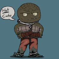 Killer Croc Chibi by Hell-Raiser13
