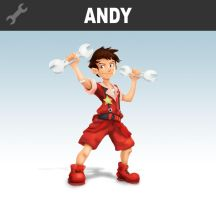 Andy Fixes for a Fight! by locomotive111